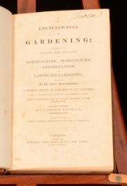 c1825 2Vol Encyclopedia Gardening Illustrated Loudon Horticulture Floriculture