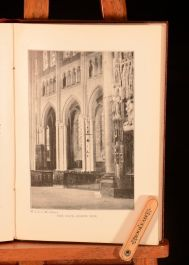 1900 H J L J Masse City of Chartres Cathedral & Churches Illus Presentation Copy