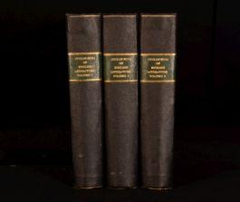 1901-03 3vol Patrick Chambers Cyclopaedia Of English Literature Biography Author