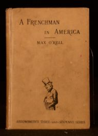 1891 A Frenchman in America The Anglo-Saxon Race Revisited Max O'Rell Illus