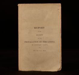 1829-30 Report Of The Society For the Propagation Of The Gospel In Foreign Parts