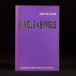 1999 Single and Single John Le Carre First Edition Proof Copy