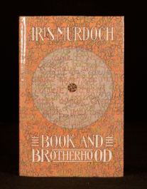 1987 Iris Murdoch The Book and the Brotherhood Signed First Edition Second Imp