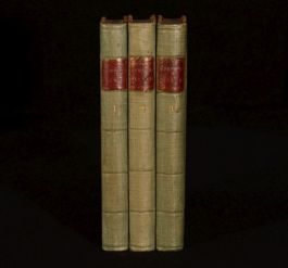 1783 3vol Expedition Of Humphry Clinker By Tobias Smollett Third Edition