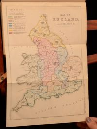 1847 2Vol Minutes of the Committee of Council on Education With Appendices Maps