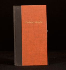 1966 Frederick Manfred Winter Count Poems 1934-1965 Dedicated to Robert Graves