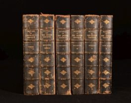 1905 6vol Novels of the Sisters Bronte Temple Scott Thornton Edition