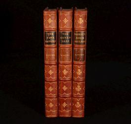 1908 3vol Kipling Five Nations Seven Seas And Barrack Room Ballads Other Verses