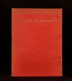 1938 A History of English Furniture Age of Mahogany Macquoid Colour Illustrated