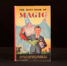 1951 The Boys' Book of Magic Dustwrapper