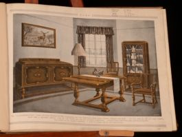 c1920 Fine Furniture Colour Plates Interior Design