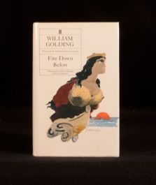 1989 Fire Down Below by William Golding First UK Edition with Dustwrapper