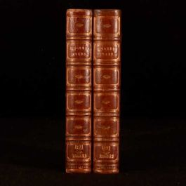 1842 2vol Italy and Poems by Samuel Rogers Leighton Brewer Binding