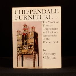 1968 Chippendale Furniture Anthony Coleridge Illustrated Interior Design