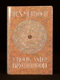 1987 Iris Murdoch The Book and the Brotherhood First Edition with Dustwrapper