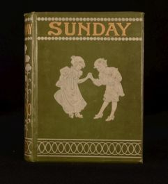 1900 Sunday Reading for Children by Various Illustrated First Edition Fiction