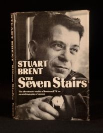 1962 The Seven Stairs Stuart Brent First Edition Signed Autobiography