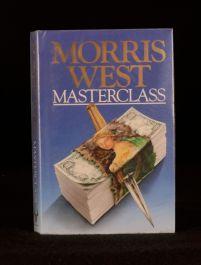 c1988 Morris West Masterclass Undated First Edition Dustwrapper Thriller