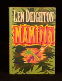 1991 Mamista Len Deighton First Edition In Dustwrapper Espionage Thriller