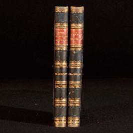 1823 2Vol Arthur Monteith A Moral Tale Scottish Orphans Blackford