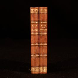 1868 2vol After Life by Elizabeth Missing Sewell Religious Fiction Tauchnitz Ed