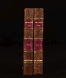 1822 2vol Bracebridge Hall or the Humorists Washington Irving First Edition