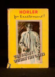1953 Sydney Horler The Enemy Within the Gates Dustwrapper