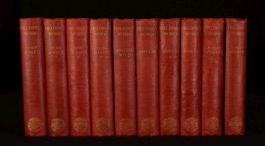 1903 10vol The Works of Henry Fielding Tom Jones Amelia Joseph Andrews Maynadier