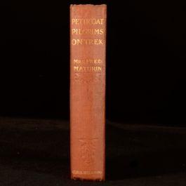 1909 Petticoat Pilgrims on Trek Mrs Fred Maturin South Africa Scarce Colonial Ed