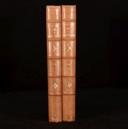 1886-7 2vol John Leech's Pictures of Life and Character from Collection Mr Punch