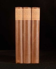 1926 3vols The Complete Works of Thomas Otway Montague Summers Nonesuch Press
