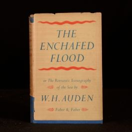 1951 The Enchafed Flood Romantic Iconography Sea W. H. Auden First
