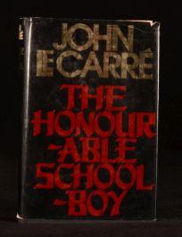 1977 The Honourable Schoolboy John Le Carre Spy Novel First US Edition