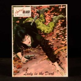 2003 Modesty Blaise Lady in the Dark Peter O'Donnell Comic Romero First Edition