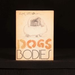 1970 Dogs Bodies Ralph Steadman Illustrated First Edition Signed by Author