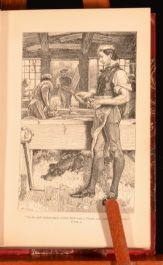 c1891 Adam Bede The Novels of George Eliot Volume I Illus Attractive Binding