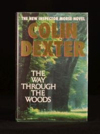 1992 The Way Through the Woods Colin Dexter First Edition First Printing Fine