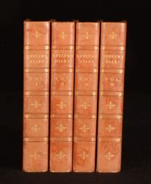 1902 4vol Diary and Correspondence of John Evelyn William Bray