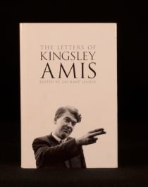 2000 First Edition Letters Kingsley Amis Zachary Leader Editor Biography Poet