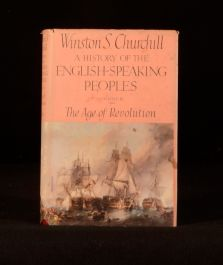 1957 A History of the English-Speaking Peoples Volume III Only Winston Churchill