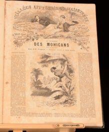 c1850 Veillees Litteraires Illustrees Les Denier des Mohicans Christoph Colomb