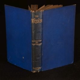 1892 The Wrecker Robert Louis Stevenson Lloyd Osbourne Illustrated First Edition