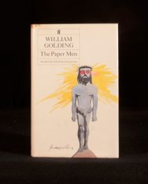 1984 The Paper Men by William Golding First UK Edition