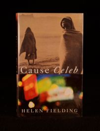 1994 Helen Fielding Cause Celeb Africa Novel Dustwrapper First Edition