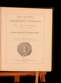 1874 Reverend William Stevenson The Legends Of St Kentigurn Limited Edition
