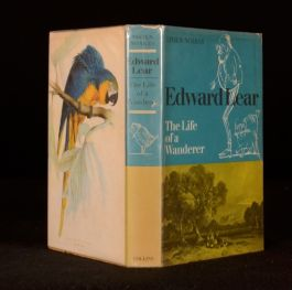 1968 Edward Lear Life of a Wanderer Viven Noakes Illustrated First Dustwrapper