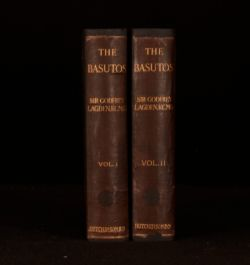 1909 2Vol The Basutos Godfrey Lagden Mountaineers and Their Country Illustrated