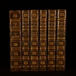 1817 6Vol The Miscellaneous Works of Tobias Smollett Robert Anderson
