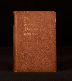 1898 The Labour Annual for the Year 1898 Edited and Published by Joseph Edwards