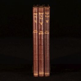 1921-1922 3vol Lollingdon Downs Reynard the Fox and Right Royal John Masefield